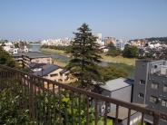 Quartier des temples -Teramachi - au dessus de la rivière Saigawa (Kanazawa)