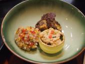 Dîner japonais - champignons & patates douces (Takayama)