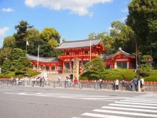 Temple Yasaka-jinjaShrine (Kyoto)