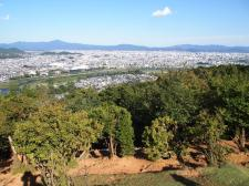 Vue du parc Iwatayama / Quartier d'Arashiyama (Kyoto)