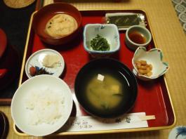 Petit-déjeuner au temple Shojoshin-in (Koyasan)
