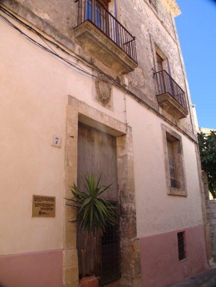Dans les ruelles d'Eivissa (Ibiza)