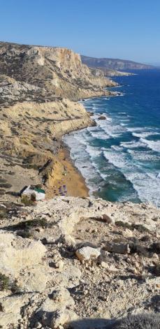 Red beach - Matala (Crète)
