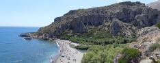 Plage de Preveli (Crète)