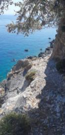 Sweet water beach entre Chora Sfakion et Aradena (Crète)