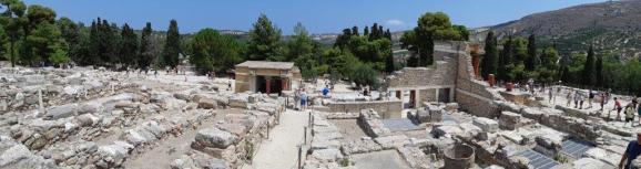 Palais de Knossos (Crète)