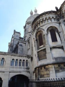 Sacré Coeur - vue arrière (Paris 18ème)