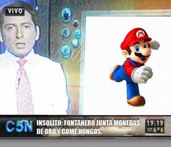 Mario en C5N