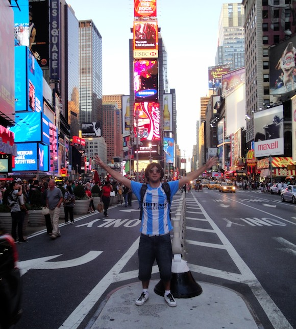 Un racinguista en Nueva York!