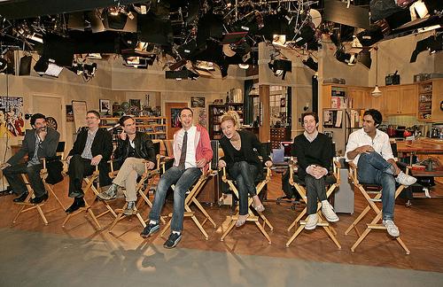 The Big Bang Theory Wallpaper Set Grabacion