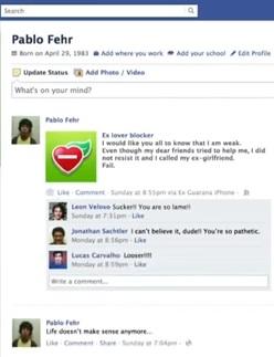 Bloquear a tu ex novia de Facebook