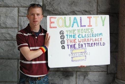 "Bradley Manning: ""Equality"""