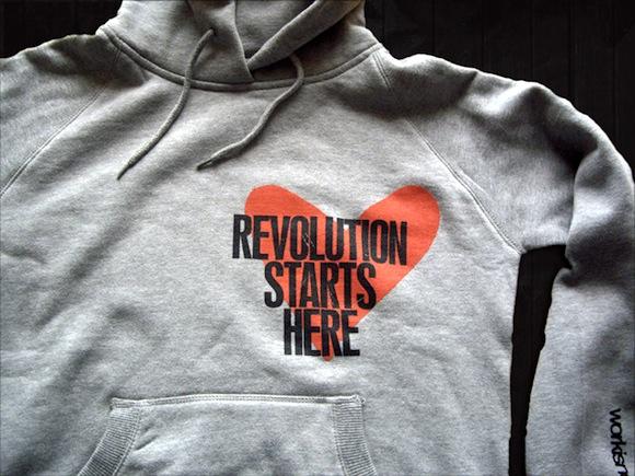 Revolution starts here