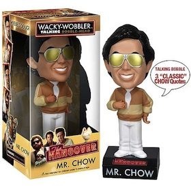 Mr Chow The hangover - Talking Bobble Head