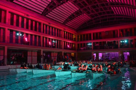 Cine piscina