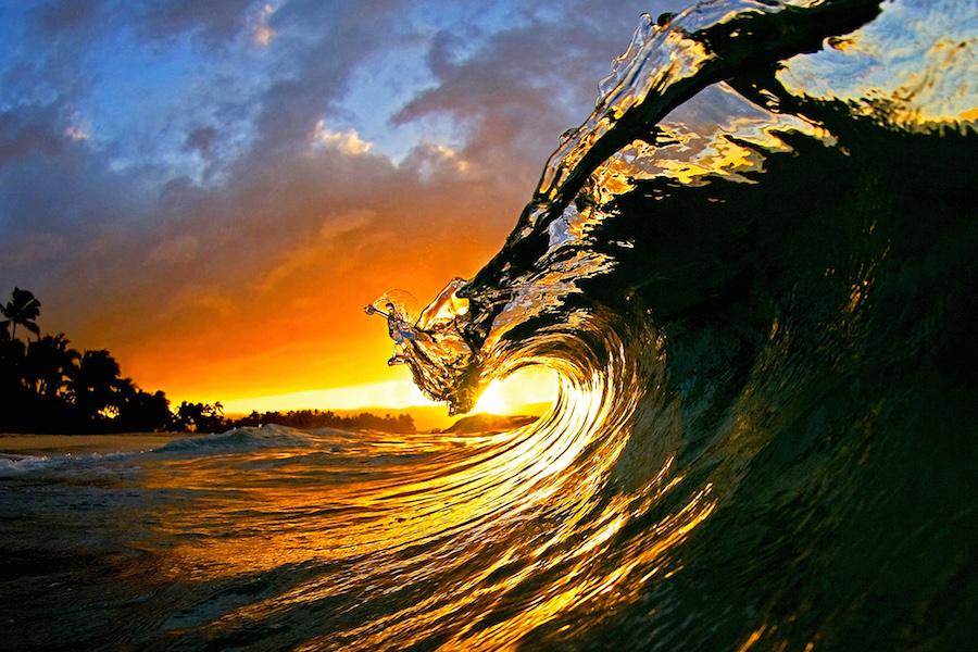 Clark Little: fotos de olas