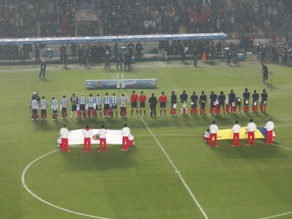 Equipos: Argentina vs. Colombia - Copa America 2011