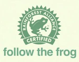 Follow the frog: Rainforest Alliance Certified