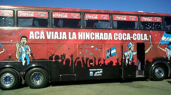 Hinchada Coca-Cola