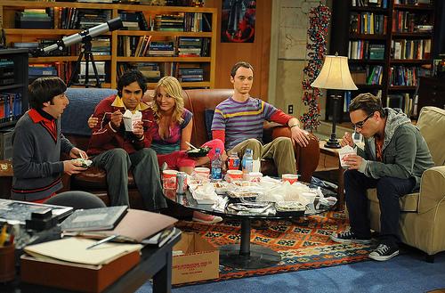 Wallpaper Big Bang Theory Living