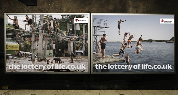 The lottery of life - Save the Children