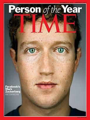 Mark Zuckerberg - Revista TIME