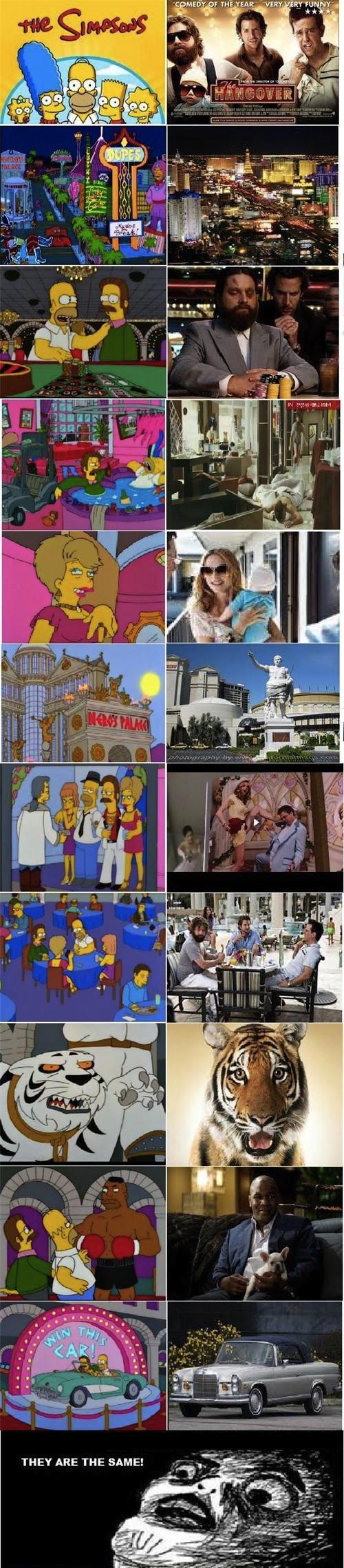 The Hangover y Los Simpson