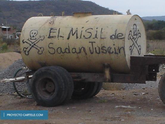 El misil de Saddam Hussein