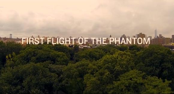 Cuadricóptero Phantom en Nueva York