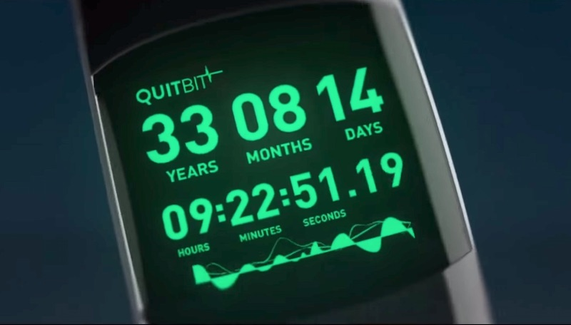 Quitbit: ¿Usarías un reloj que te diga cuándo tiempo te queda de vida?