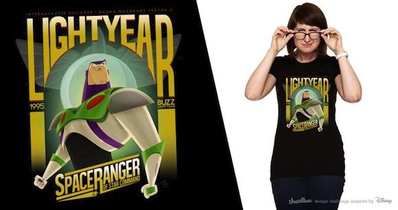 Remera Buzz Lightyear de Franco Spagnolo