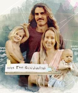 The Goodwin Project: Viajar surfeando con tu familia