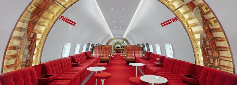 El bar del avion