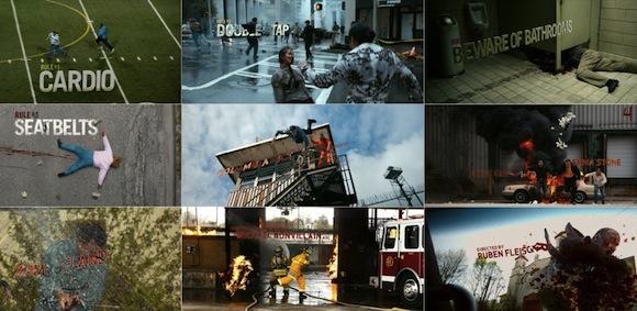Los titulos de Zombieland