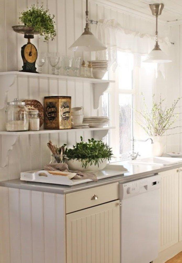 Arredare una casa al mare in stile shabby chic quello for Cucina casa mare