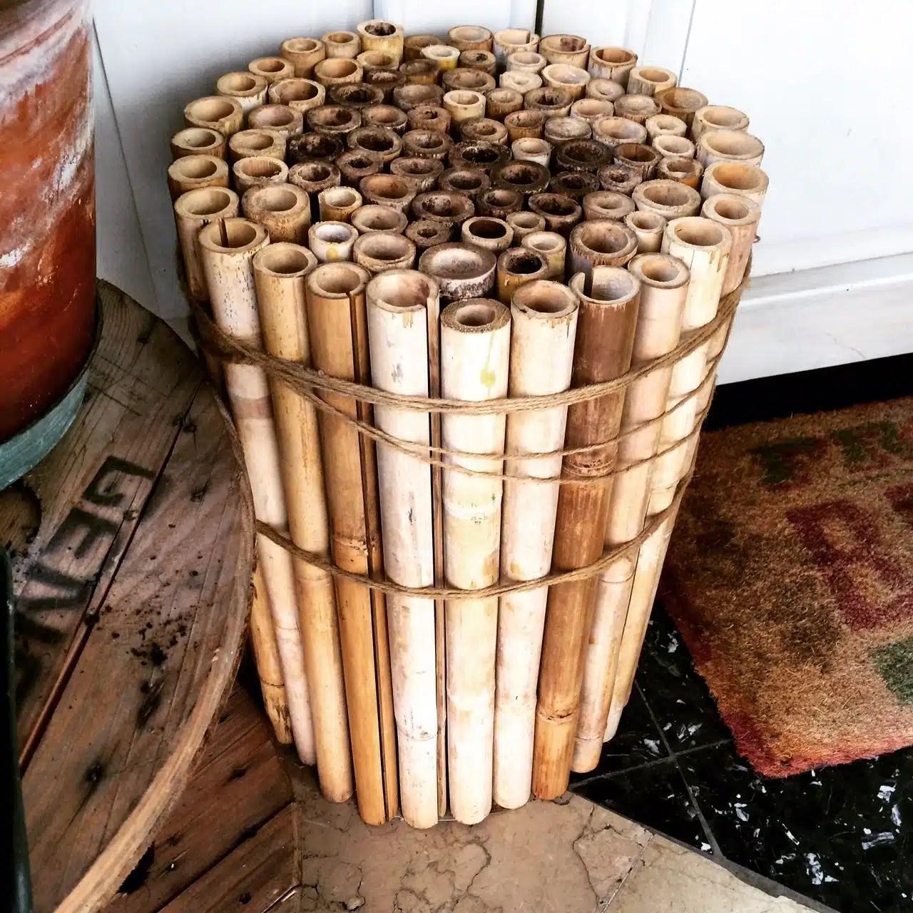 Riciclo creativo: utilizzare canne di bambù per il vostro giardino ...