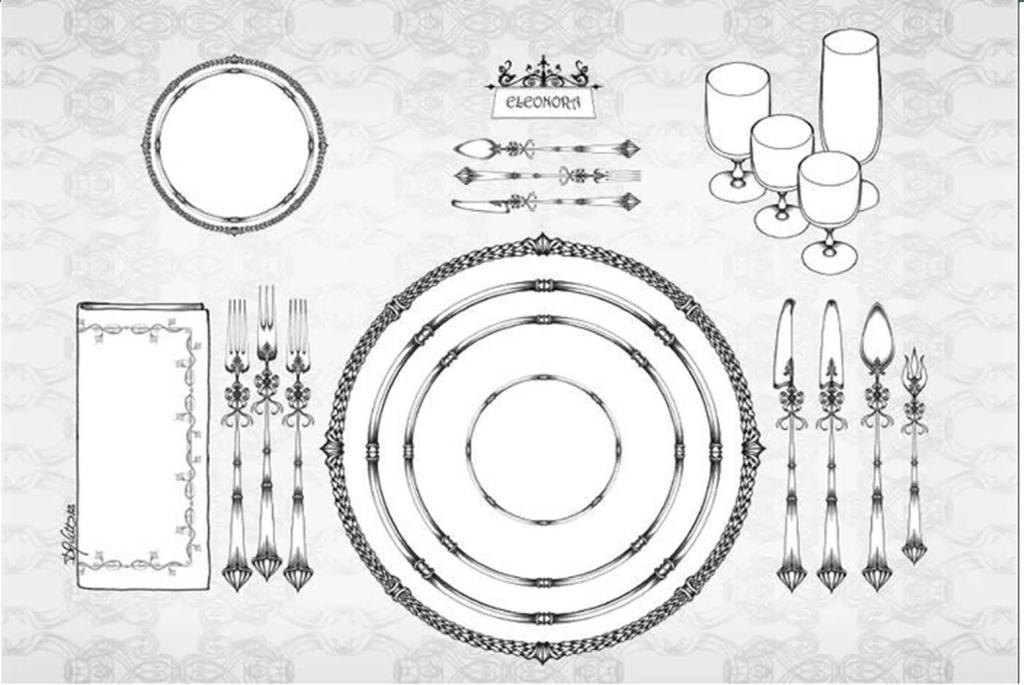 Apparecchiare la tavola galateo idee per la casa - Regole del galateo a tavola ...