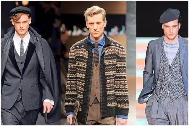 come indossare gilet vintage