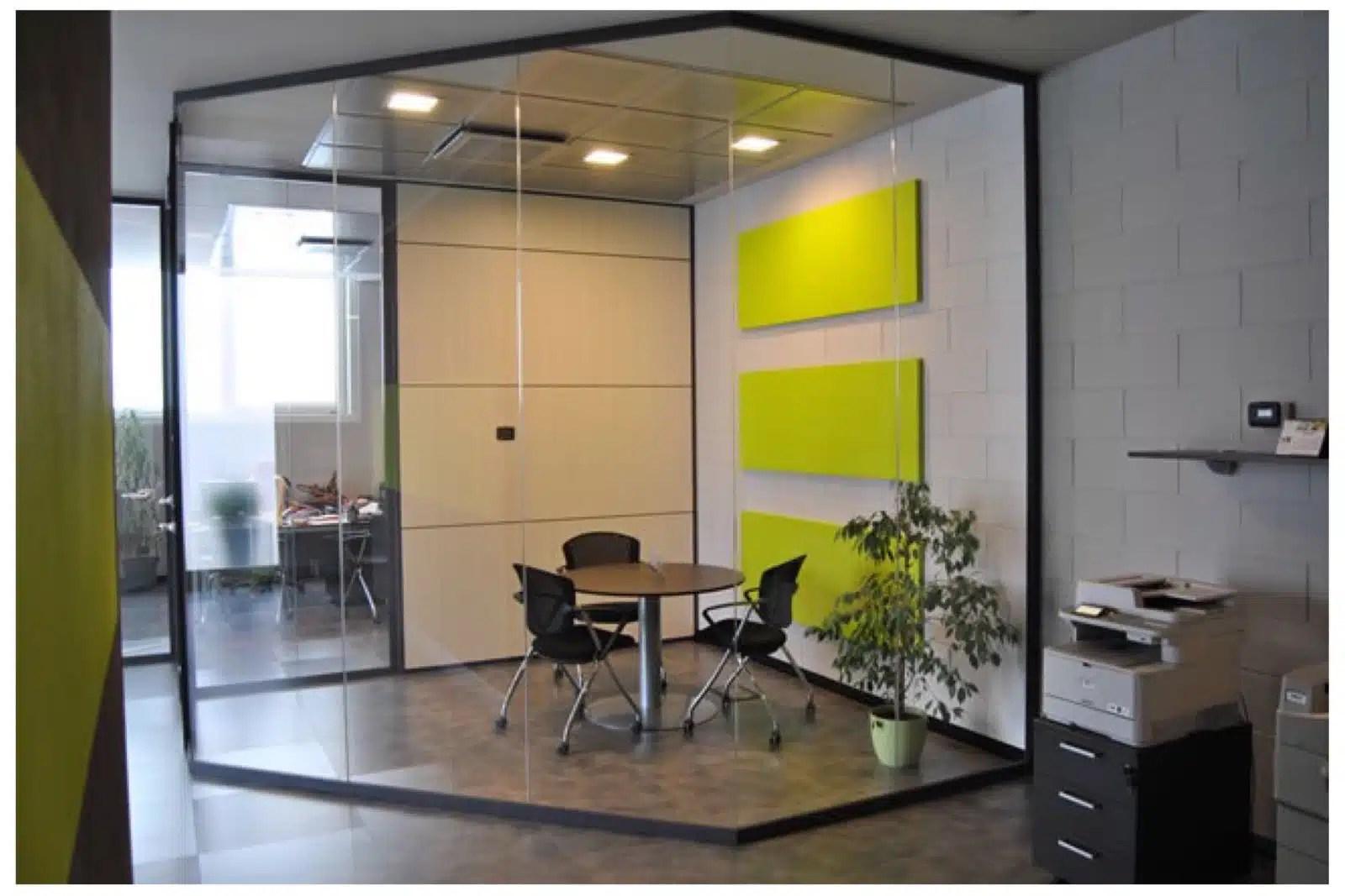 Beautiful pareti divisorie per ufficio come scegliere - Colori per pareti ufficio ...