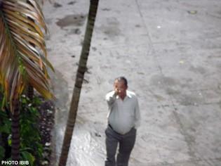 Công an Xuân thuộc PA38 thành phố hăm dọa và chỉ đạo cuộc đàn áp chùa Giác Hoa - Photo PTTPGQT