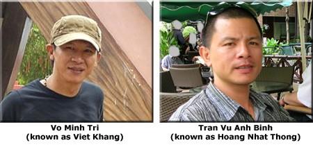 Viet Khang & Tran Vu Anh Binh