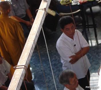 Công an Tốt thuộc An Ninh Quận Bình Thạnh xâm nhập Tổ đường chùa Giác Hoa quan sát - Hình PTTPGQT