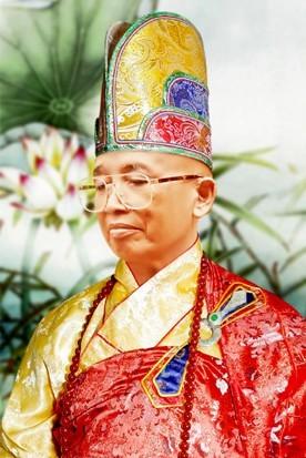 Chân dung Đại lão Hoà thượng Thích Như Đạt, Viện trưởng Viện Hoá Đạo GHPGVNTN