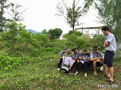 Trại sơ cấp Lộc Uyển, Huyện Phú Lộc, Đội chúng thảo luận