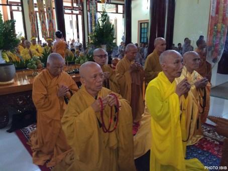 Hoà thượng Thích Thanh Quang, Quyền Viện trưởng Viện Hoá Đạo niêm hương chủ lễ