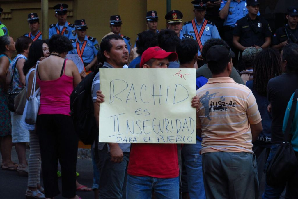 Repudio a Rachid