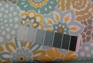 Pick A Paint Colour To Work With Your Chosen Fabric