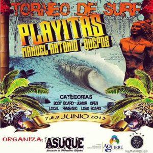Asociacion de Surfeadores Quepos - Torneo de Surf