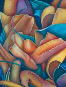 Kim's painting