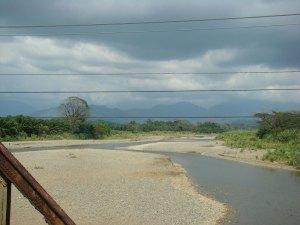 Rio Naranjo after mining